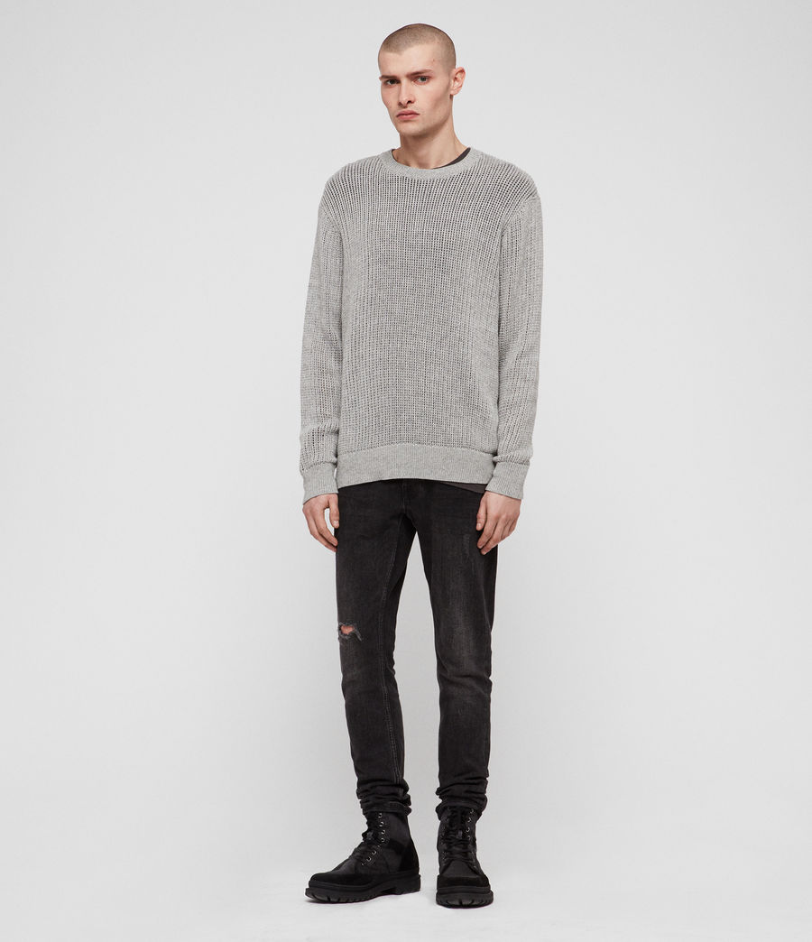 Men's Oskett Crew (grey_marl) - Image 2