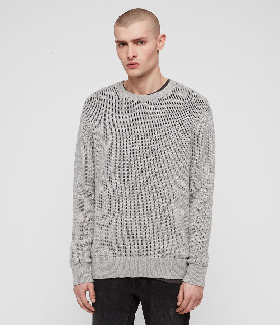 Men's Oskett Crew (grey_marl) - Image 3