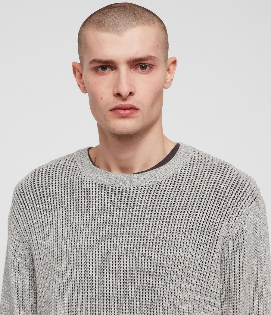 Men's Oskett Crew (grey_marl) - Image 4