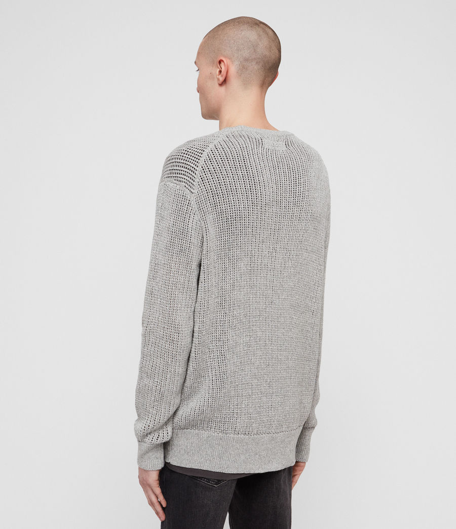 Men's Oskett Crew (grey_marl) - Image 5