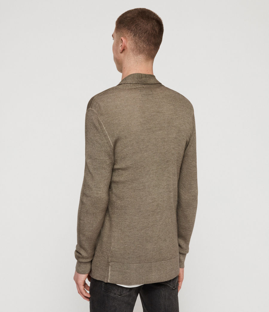 Men's Ark Merino Cardigan (sheal_green) - Image 5