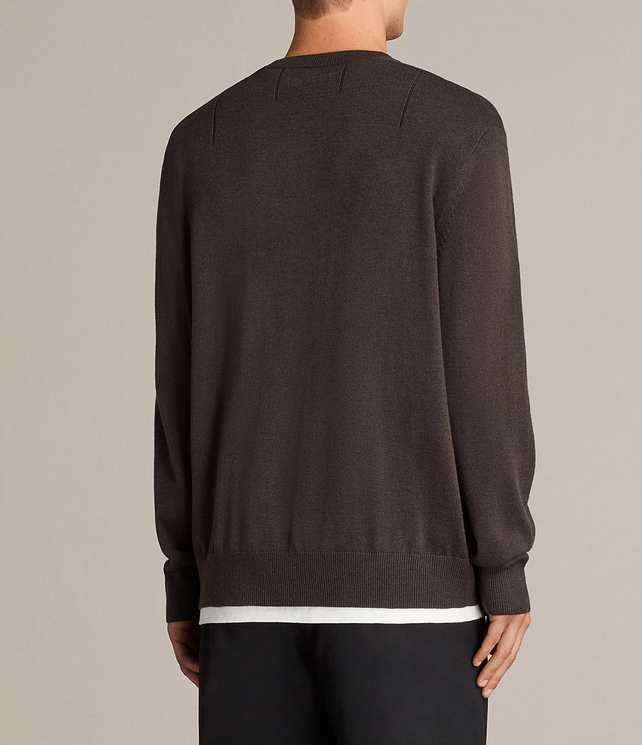 Men's Blake Crew Jumper (khaki_brown) - Image 4