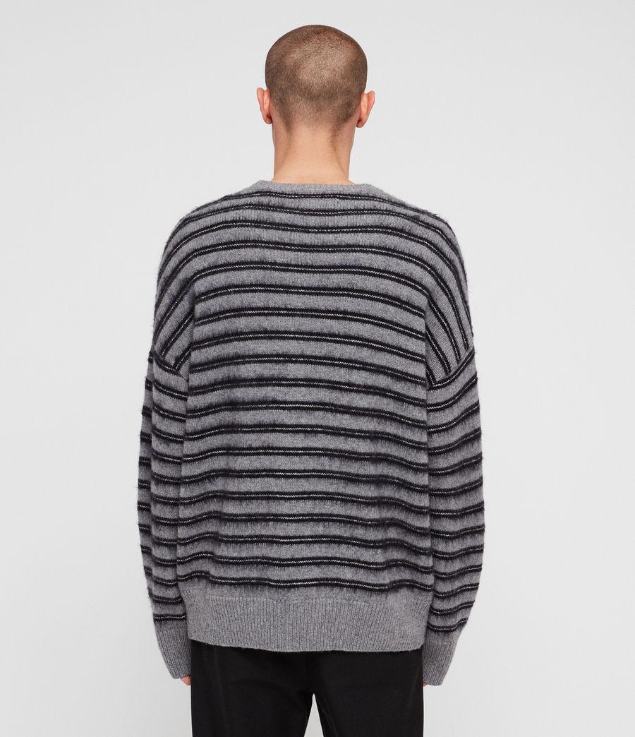 Mens Bretley Crew Sweater (grey_inknavy) - Image 4