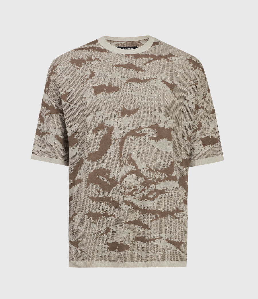 Hombre Conceal Crew T-Shirt (khaki_taupe) - Image 2