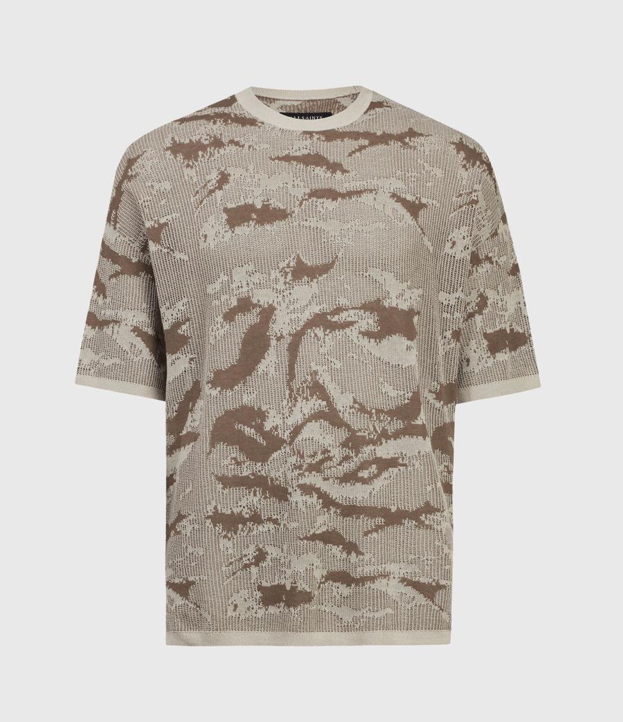 Mens Conceal Crew T-Shirt (khaki_taupe) - Image 2