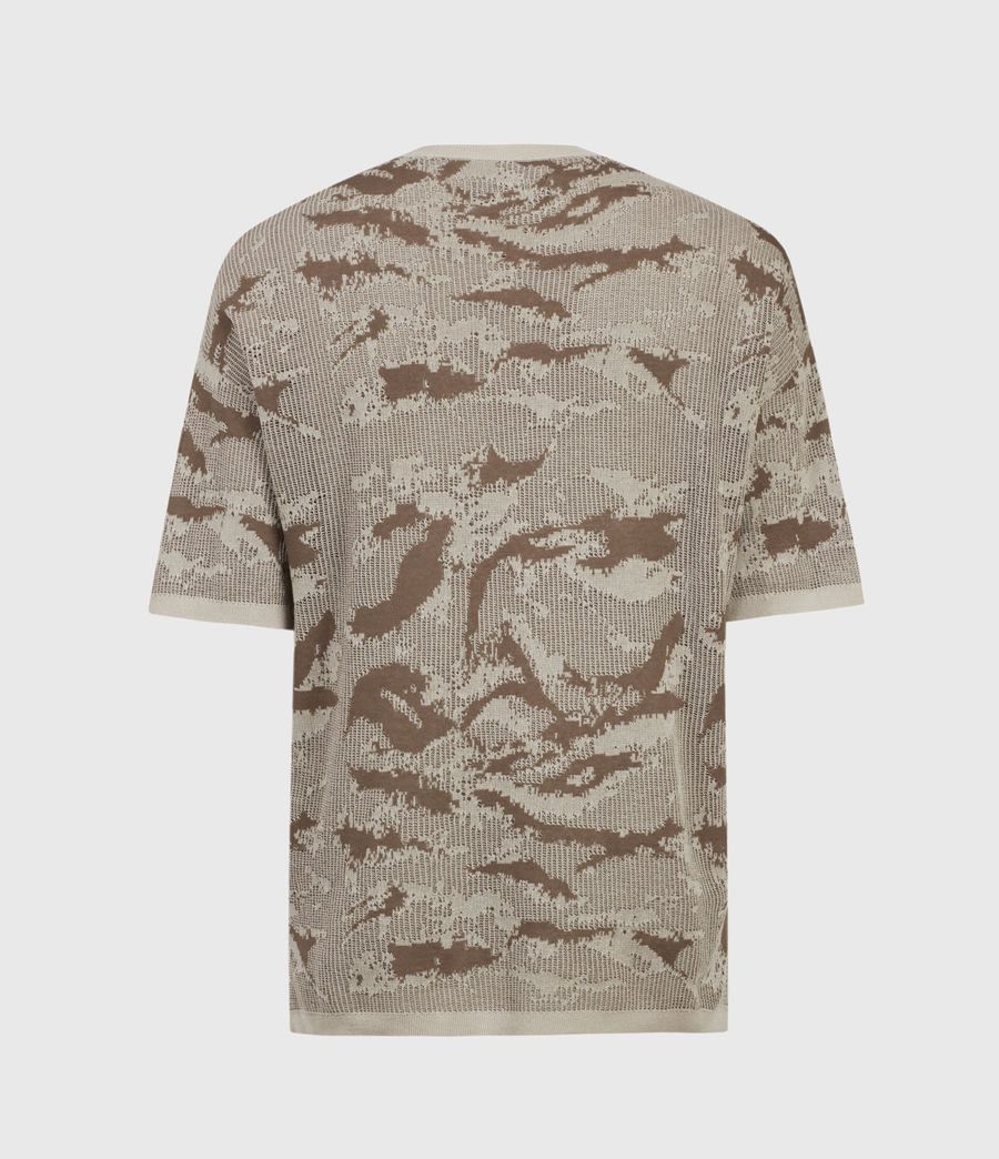 Hombre Conceal Crew T-Shirt (khaki_taupe) - Image 3