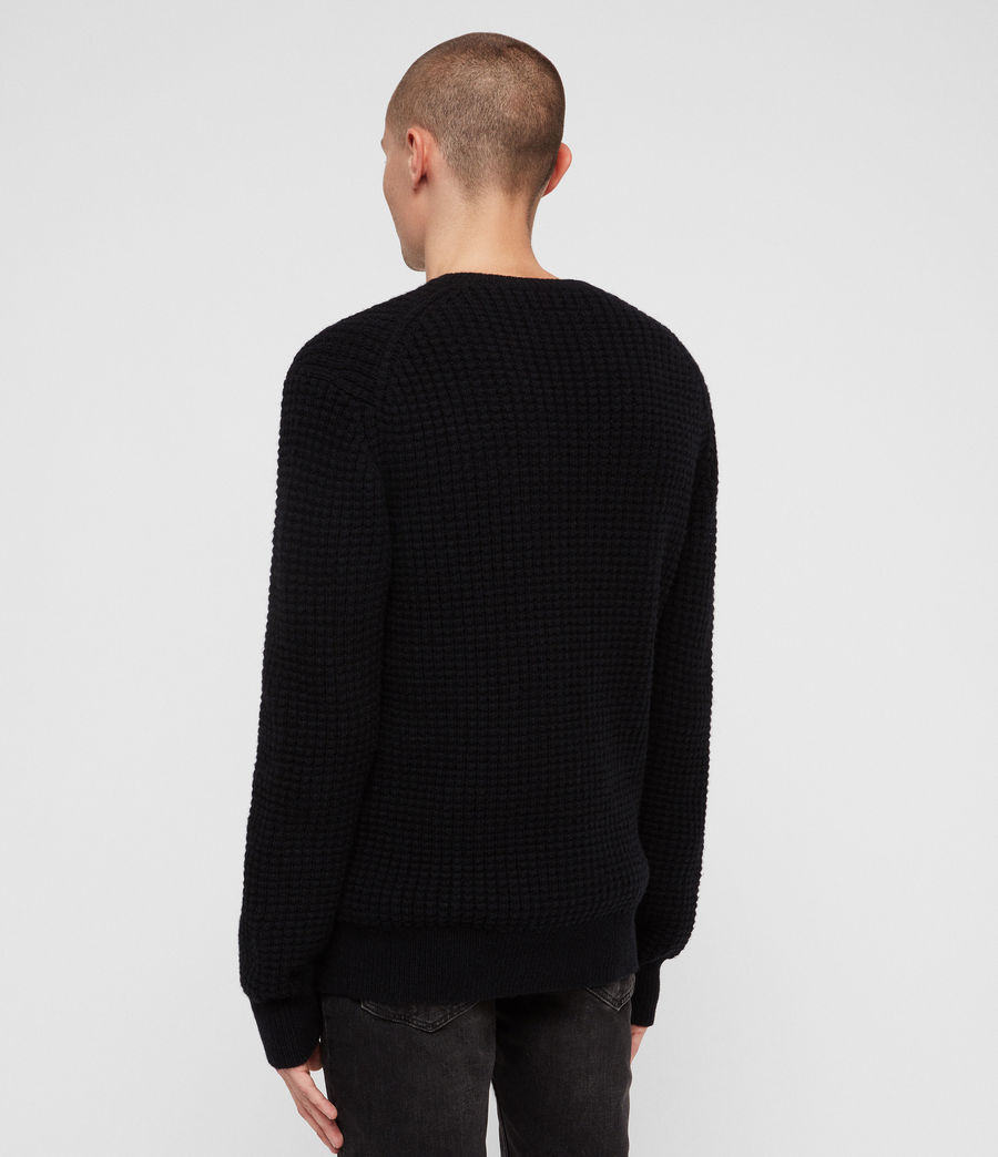 Mens Raynes Crew Sweater (ink_navy) - Image 5