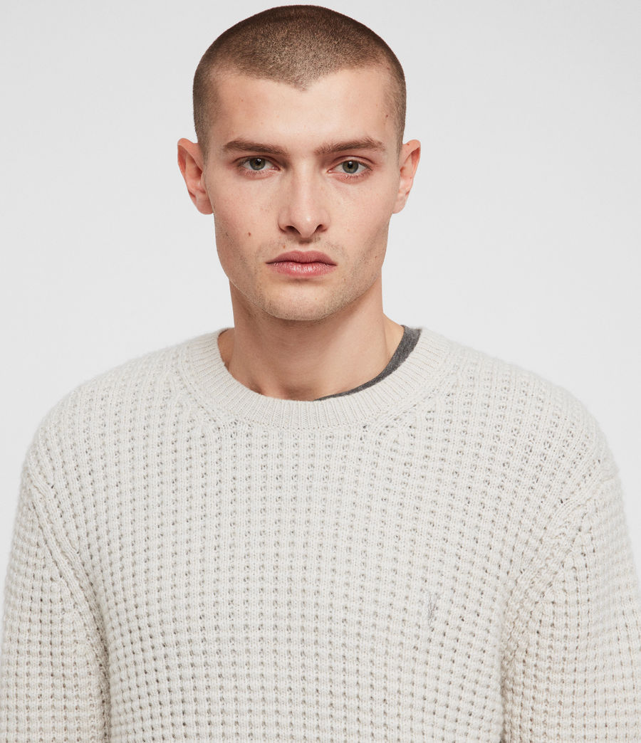 Mens Raynes Crew Sweater (sodium_grey) - Image 2