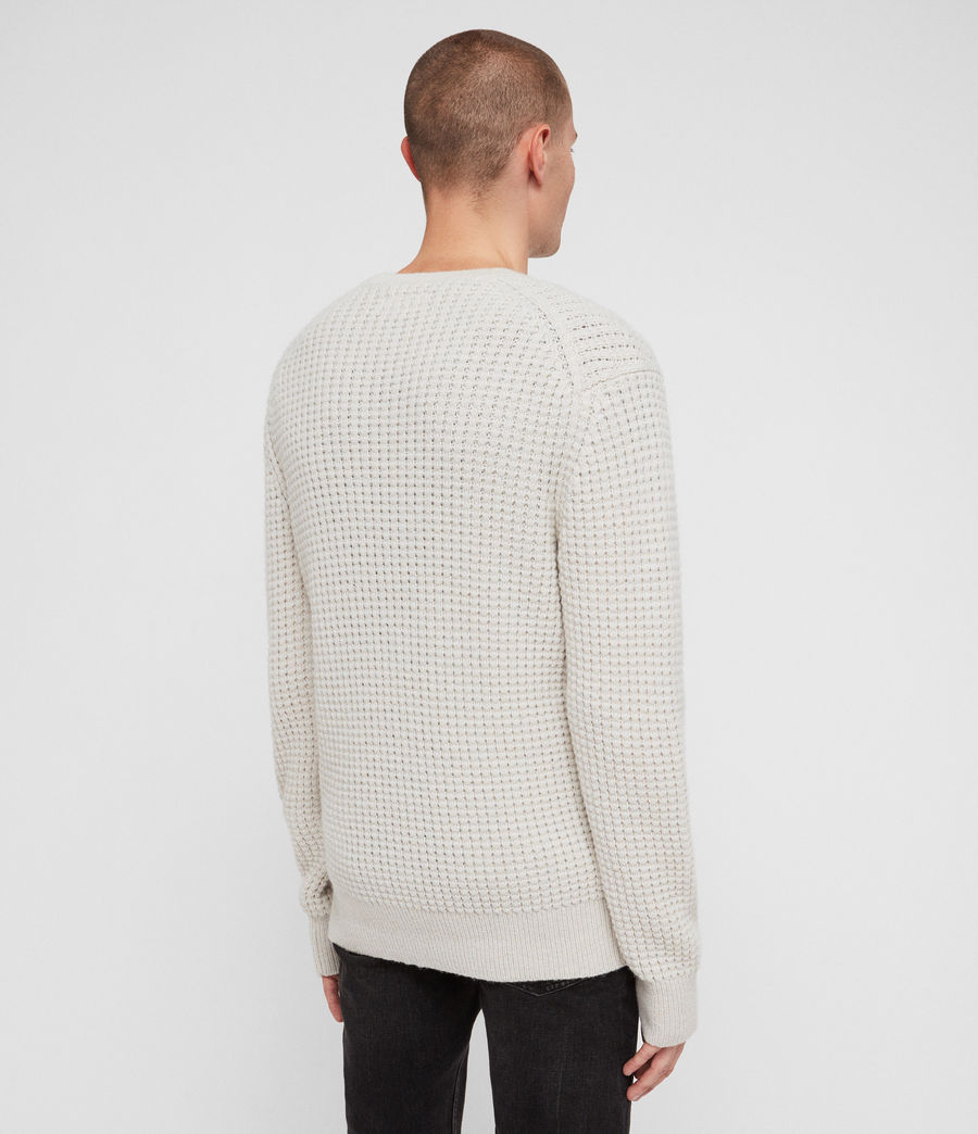 Mens Raynes Crew Sweater (sodium_grey) - Image 4