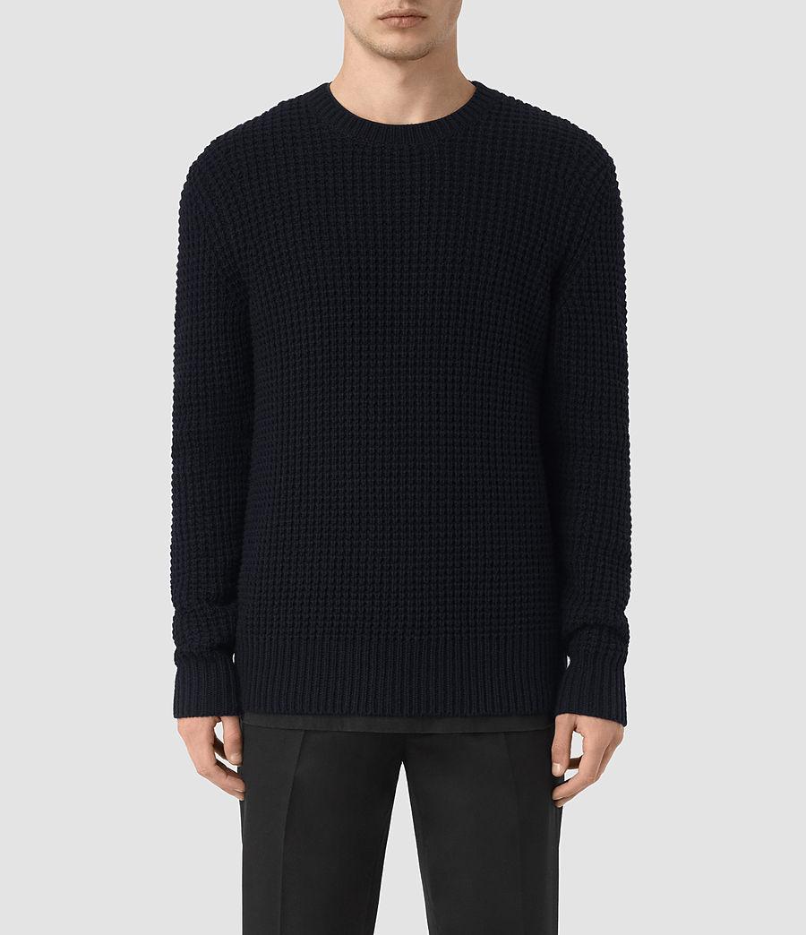 Mens Tornn Crew Sweater (ink_navy) - Image 1