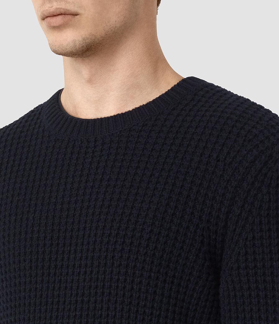 Mens Tornn Crew Sweater (ink_navy) - Image 2