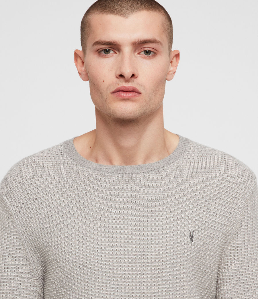 Mens Charter Crew Sweater (stone_grey) - Image 2