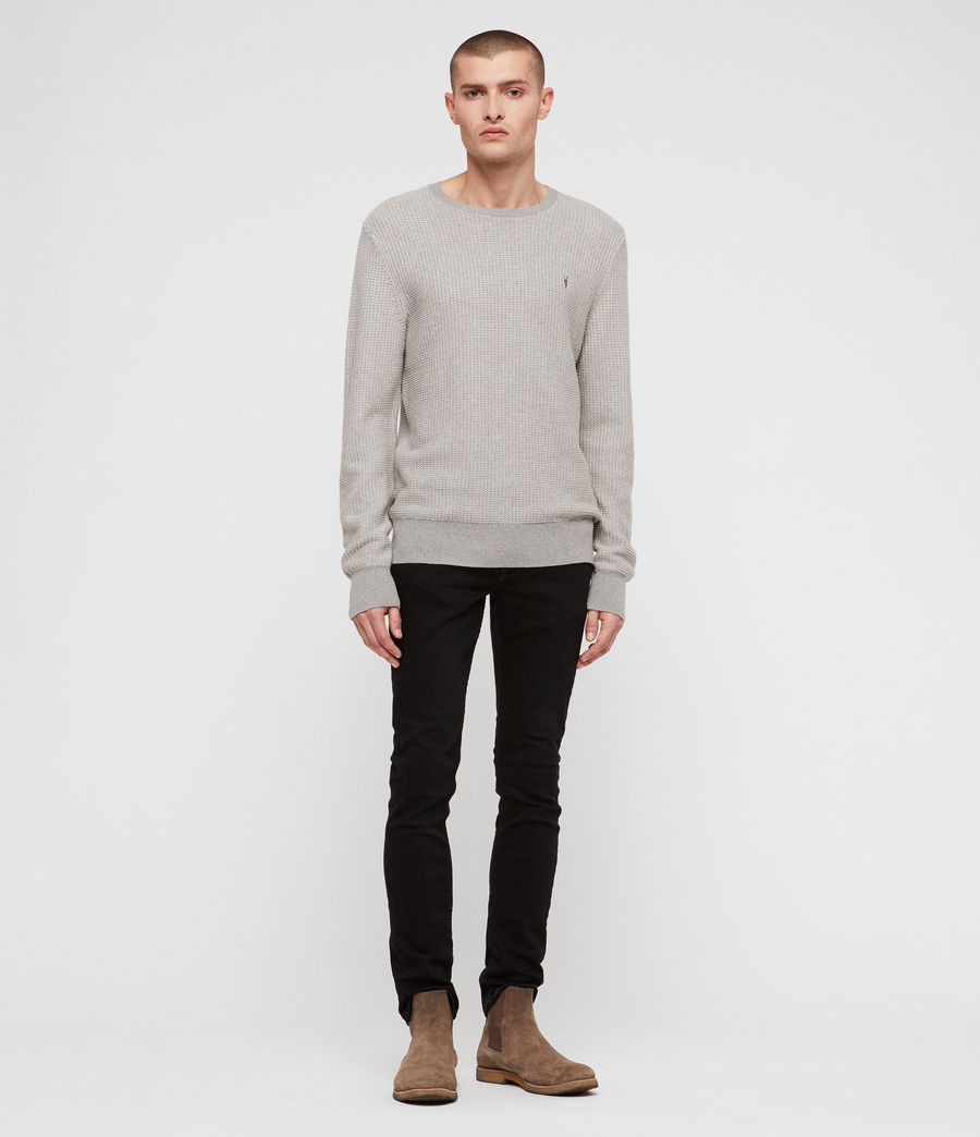 Mens Charter Crew Sweater (stone_grey) - Image 3