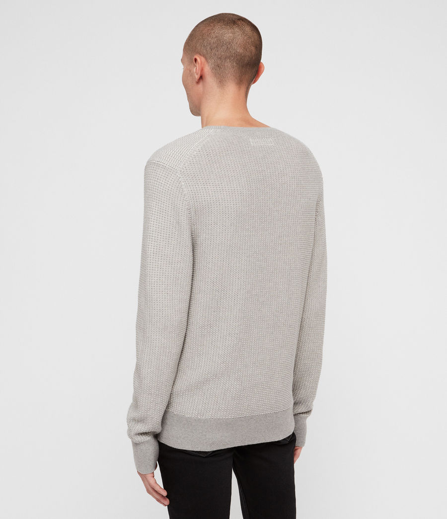 Mens Charter Crew Sweater (stone_grey) - Image 5