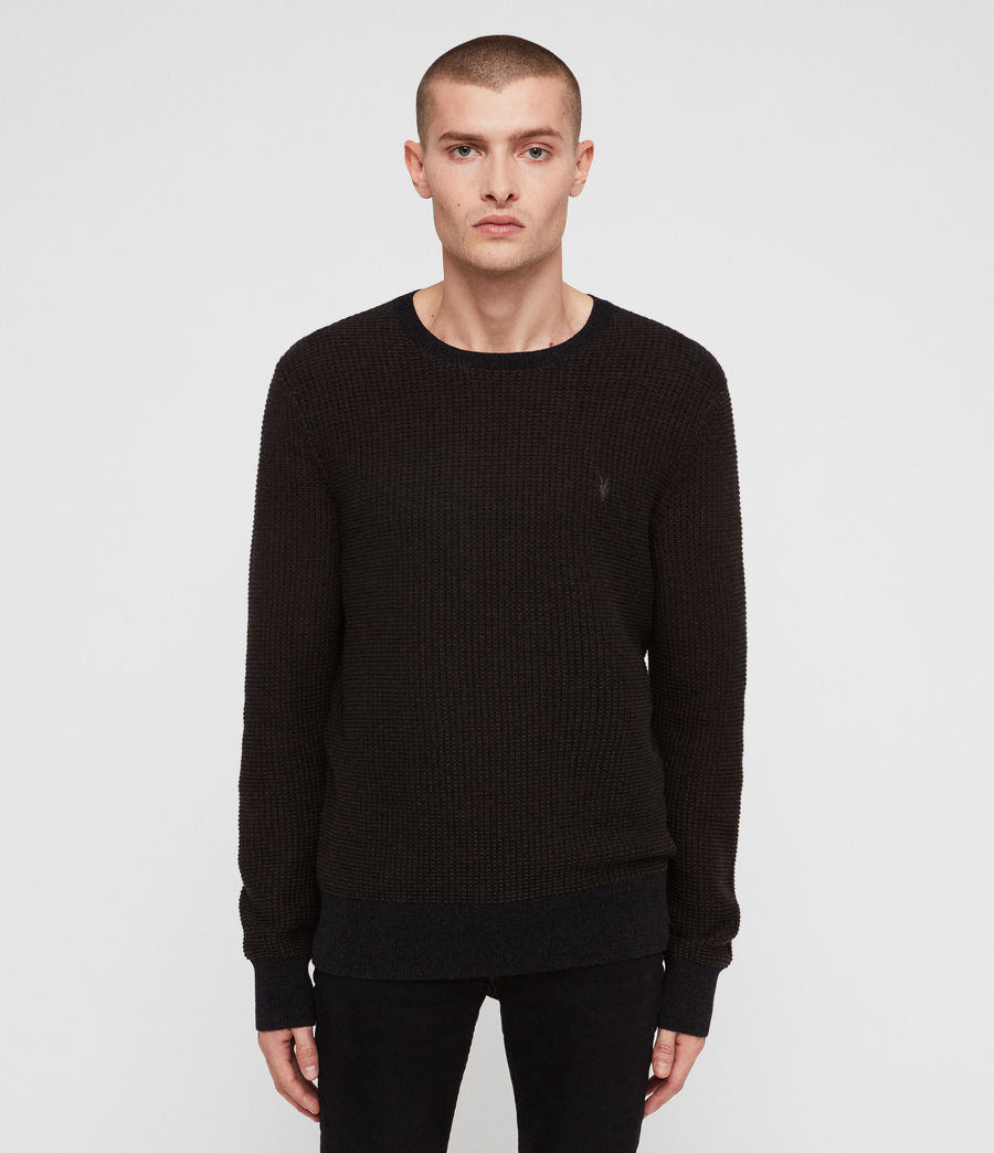 Mens Charter Crew Sweater (sandalwood_brown) - Image 1