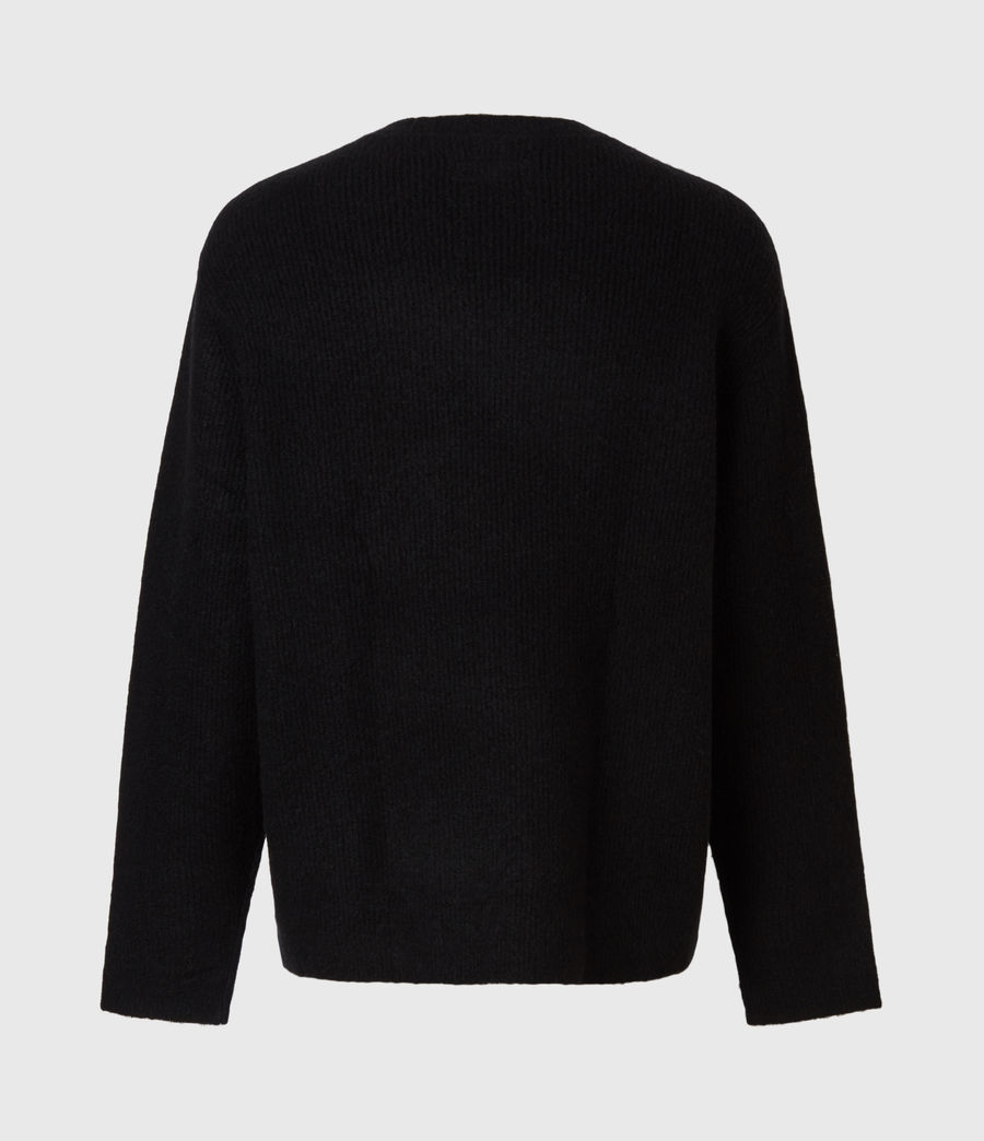 Men's Rift Saints Crew Jumper (black) - Image 3