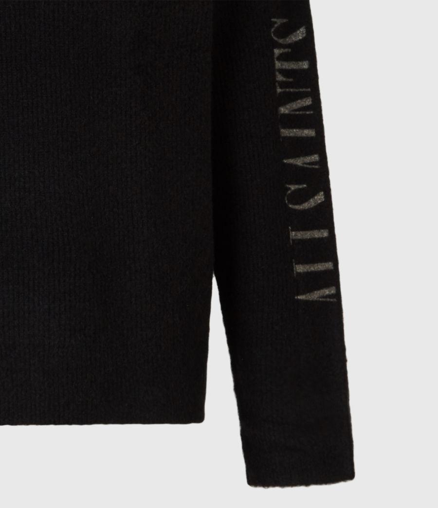 Mens Rift Saints Crew Sweater (black) - Image 6