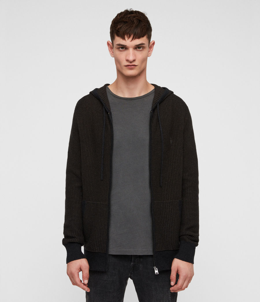 Men's Charter Hoodie (sandalwood_brown) - Image 1