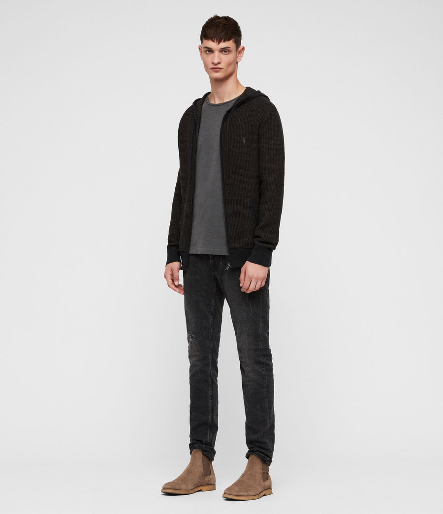 Men's Charter Hoodie (sandalwood_brown) - Image 3