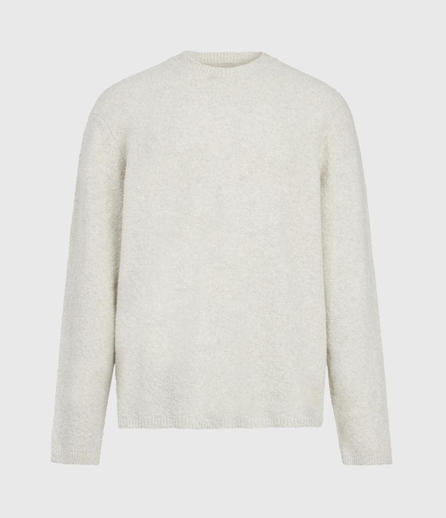 Mens Eamont Crew Sweater (ecru) - Image 2