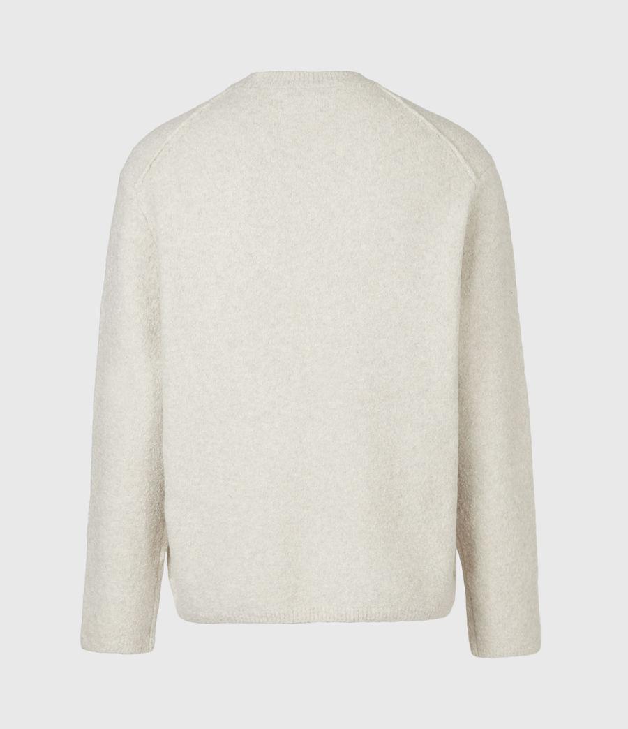 Mens Eamont Crew Sweater (ecru) - Image 3