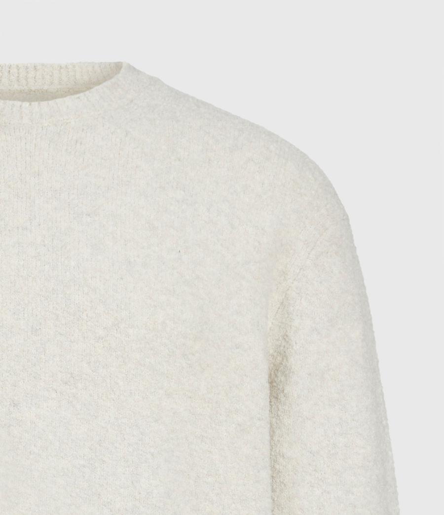 Mens Eamont Crew Sweater (ecru) - Image 4