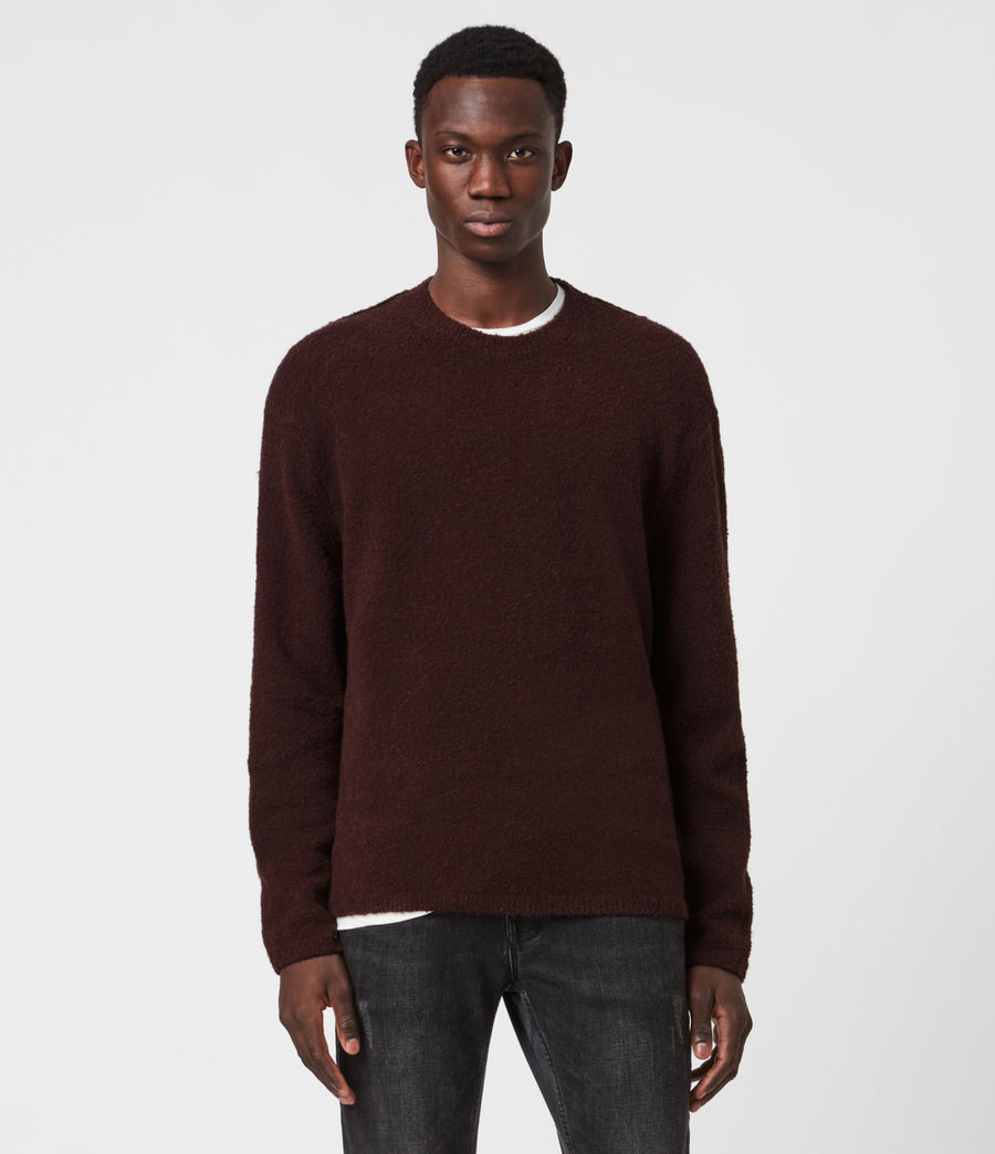 Herren Eamont Pullover (oxblood_red) - Image 1