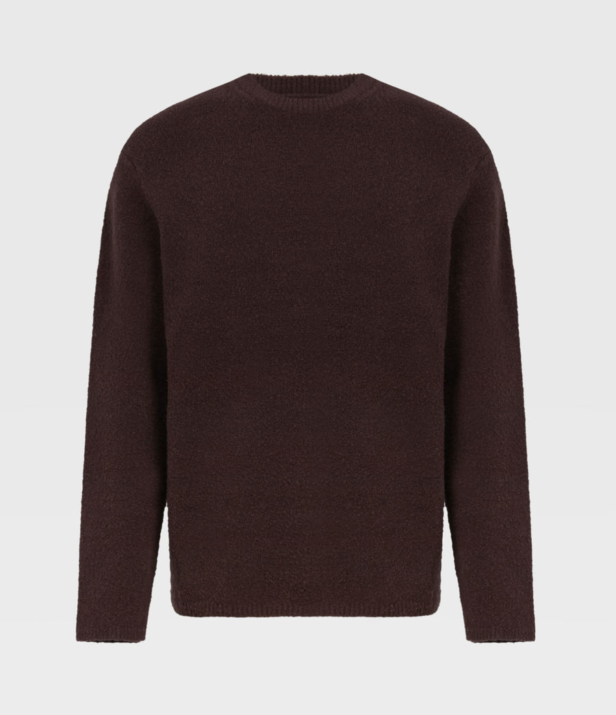 Herren Eamont Pullover (oxblood_red) - Image 2