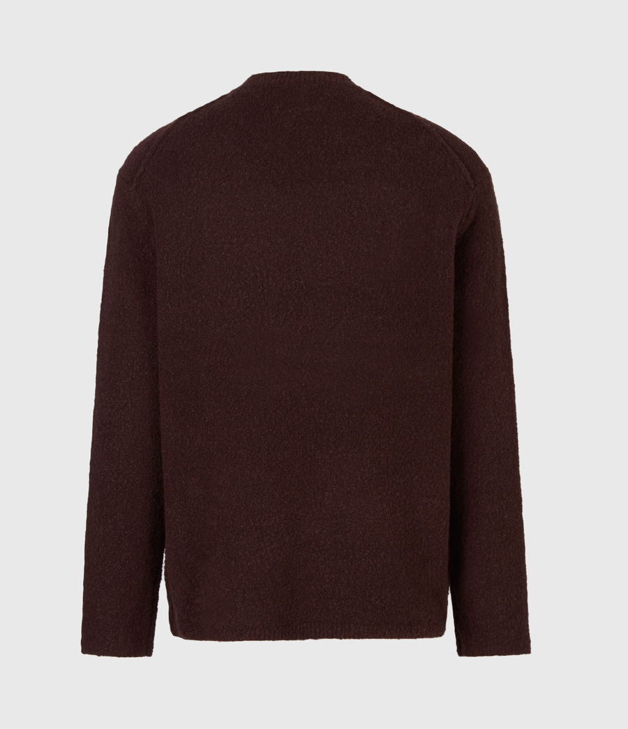 Herren Eamont Pullover (oxblood_red) - Image 3