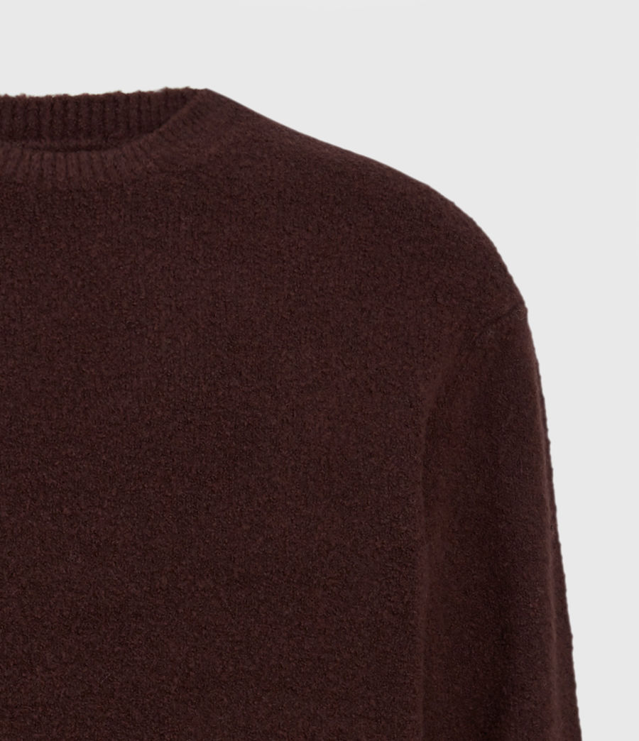 Herren Eamont Pullover (oxblood_red) - Image 5