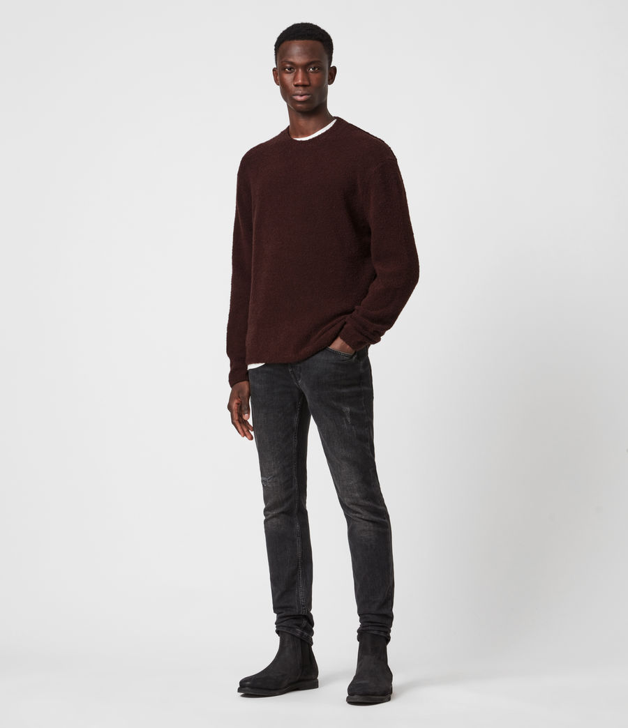 Herren Eamont Pullover (oxblood_red) - Image 6