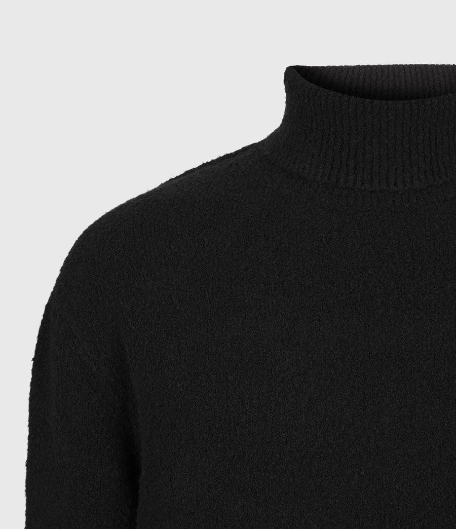 Mens Eamont Funnel Neck Sweater (black) - Image 5
