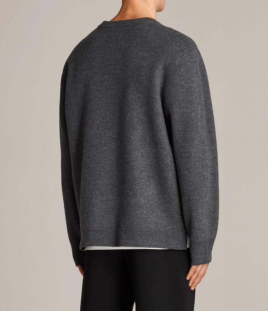 Hombres Jersey de pico Wregan (charcoal_marl) - Image 4