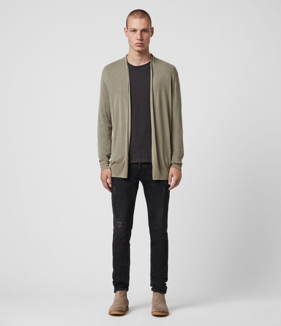 Men's Ruben Cardigan (safari_green) - Image 4