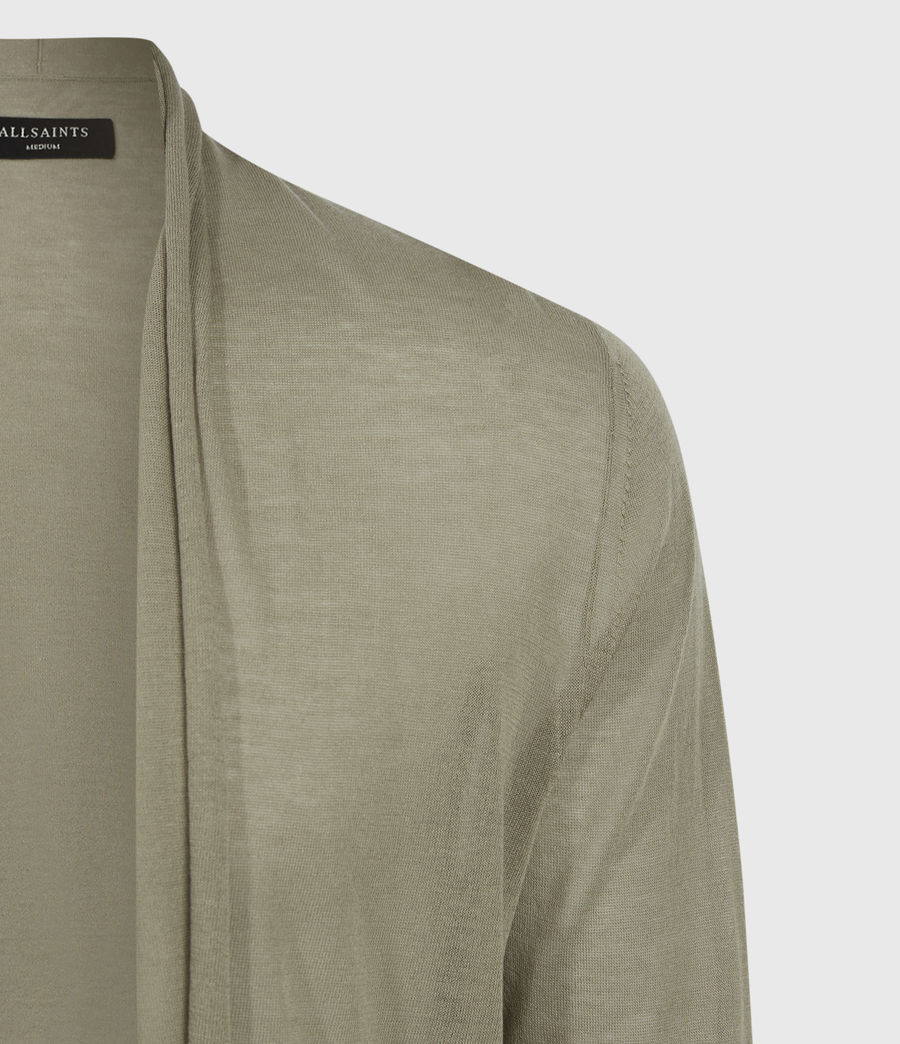 Men's Ruben Cardigan (safari_green) - Image 5