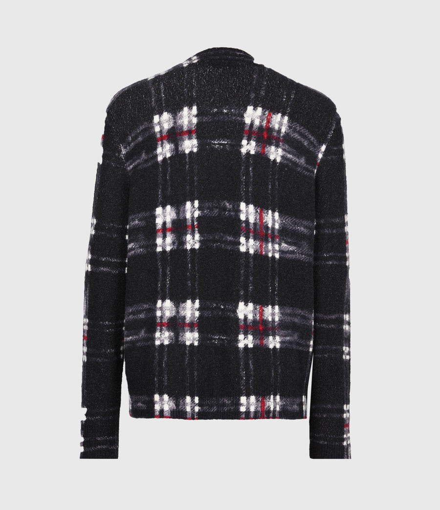 Mens Lachlan Crew Sweater (black) - Image 3
