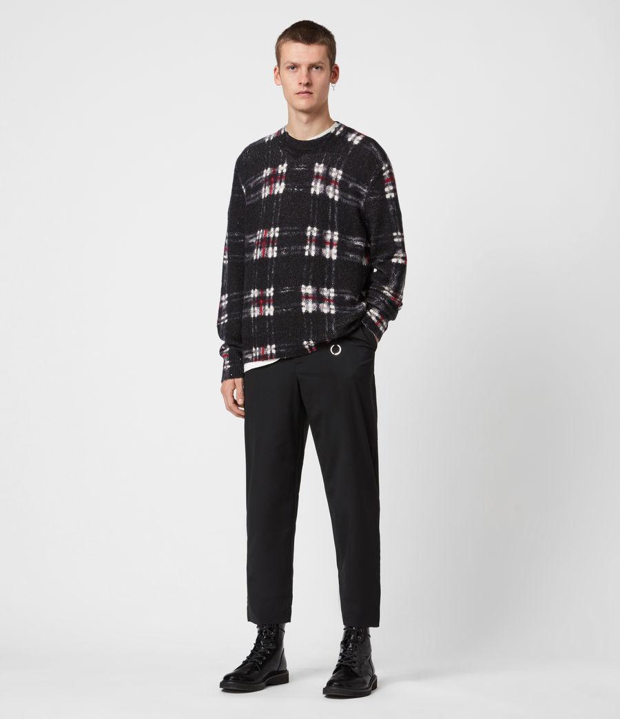 Herren Lachlan Crew Pullover (black) - Image 6