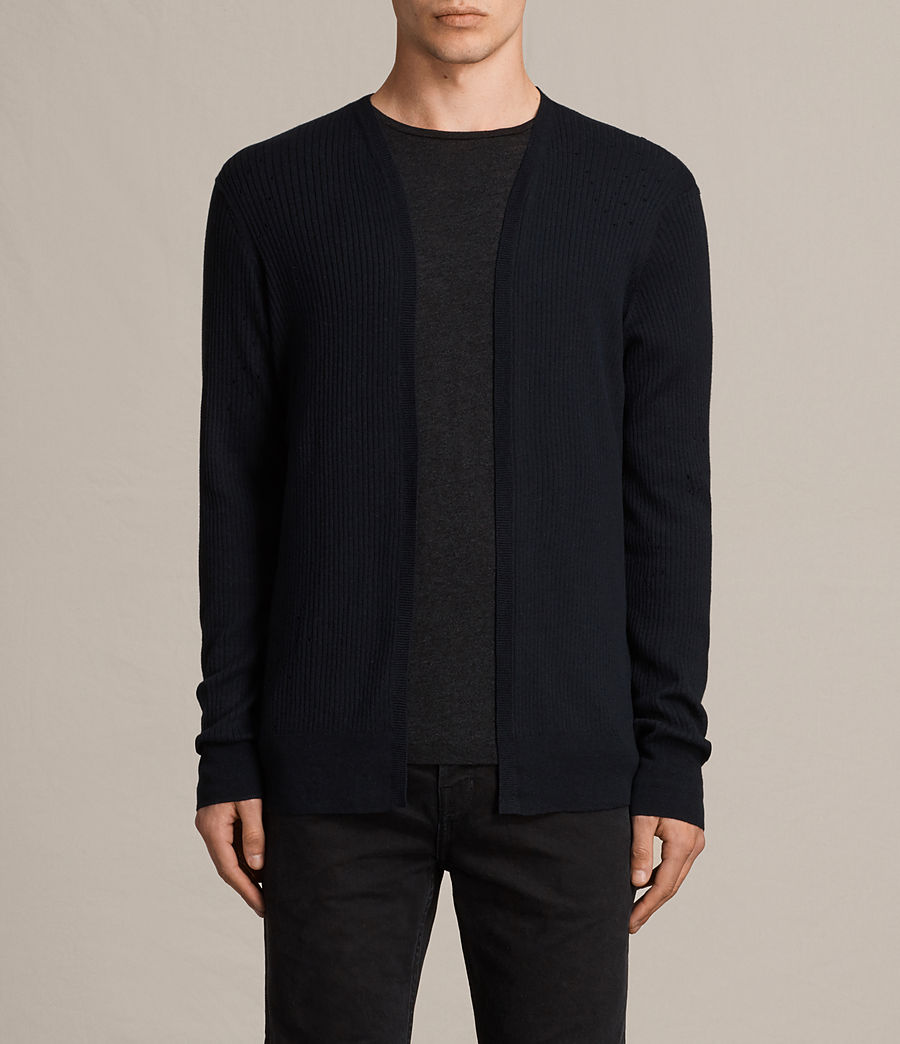 Men's Jace Cardigan (ink_navy) - Image 1