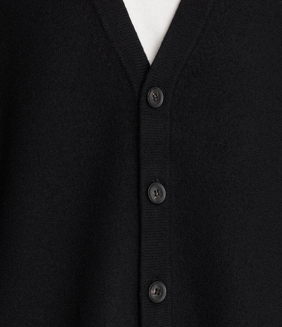Uomo Cardigan Wregan (black) - Image 2