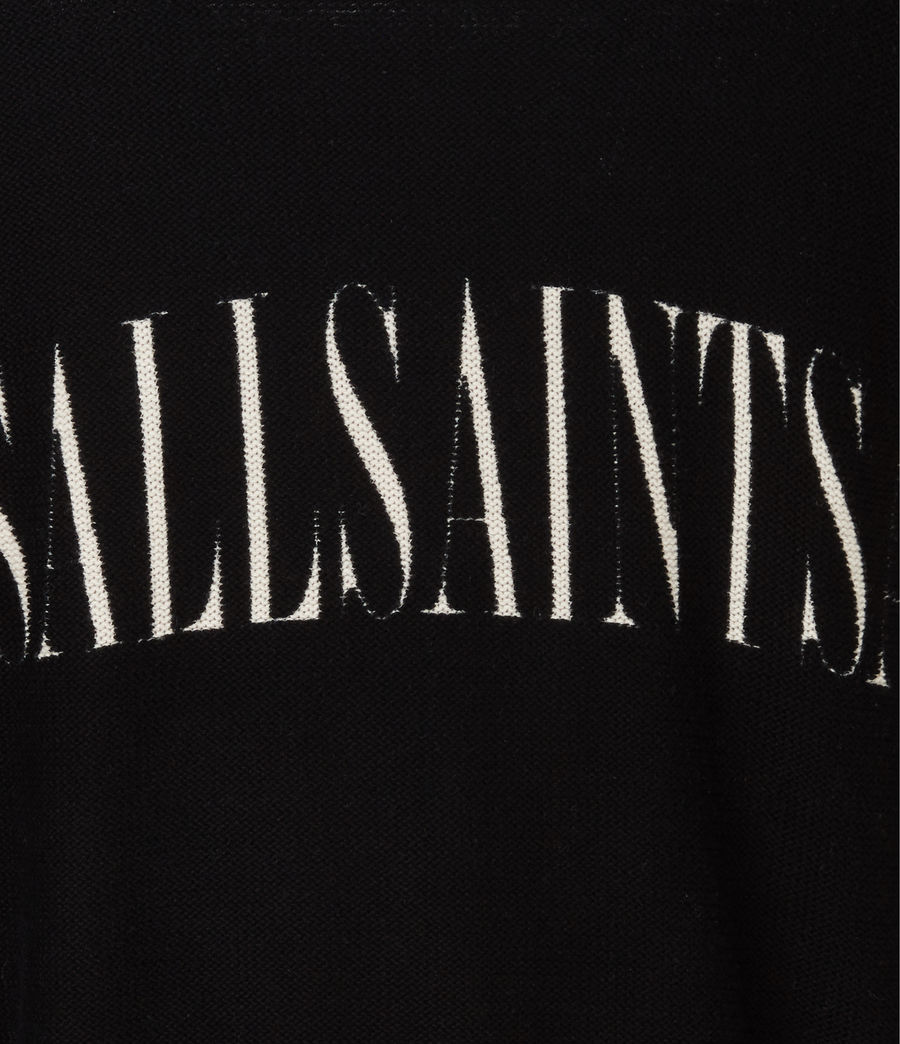 Men's Print Saints Reversible Crew Jumper (black) - Image 10