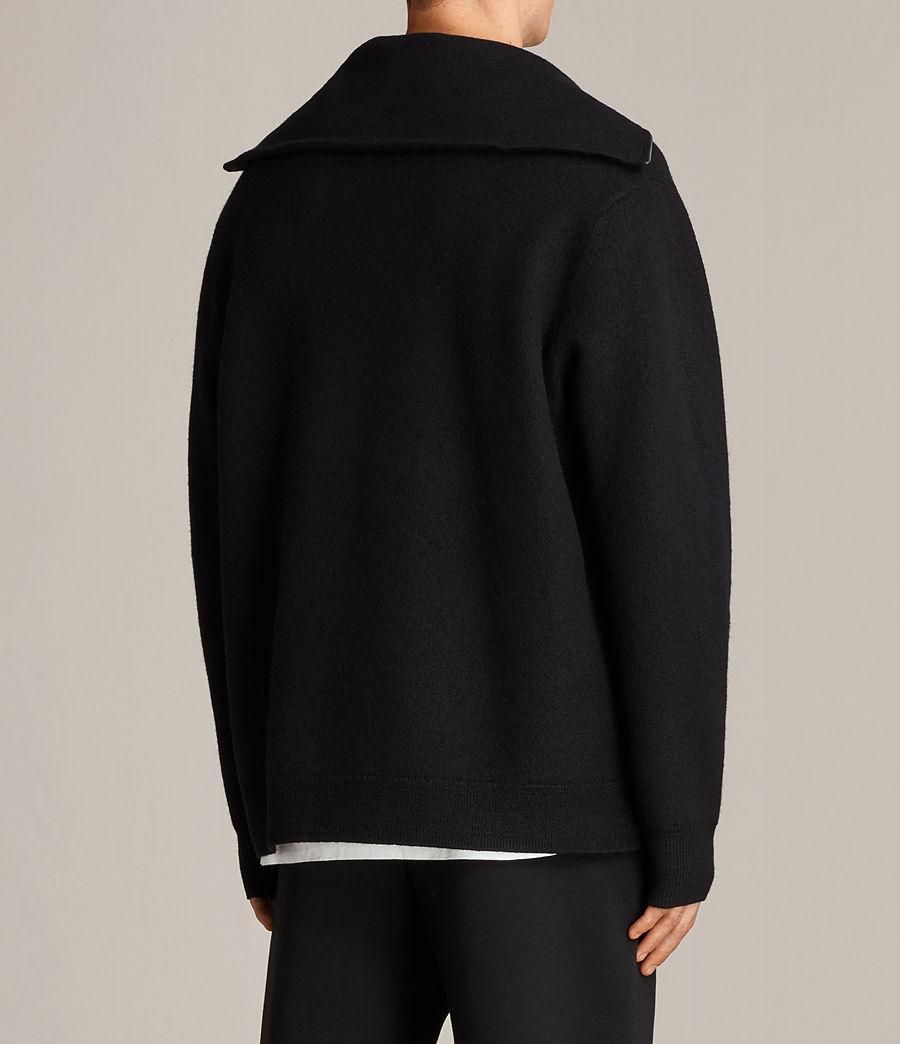 Herren Wregan Reißverschluss Pullover (black) - Image 4