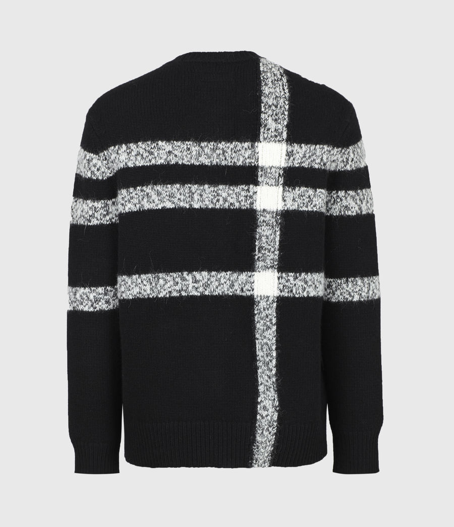 Mens Arkade Crew Sweater (black) - Image 3
