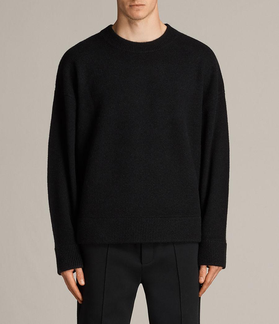Hommes Pull Loften (black) - Image 1