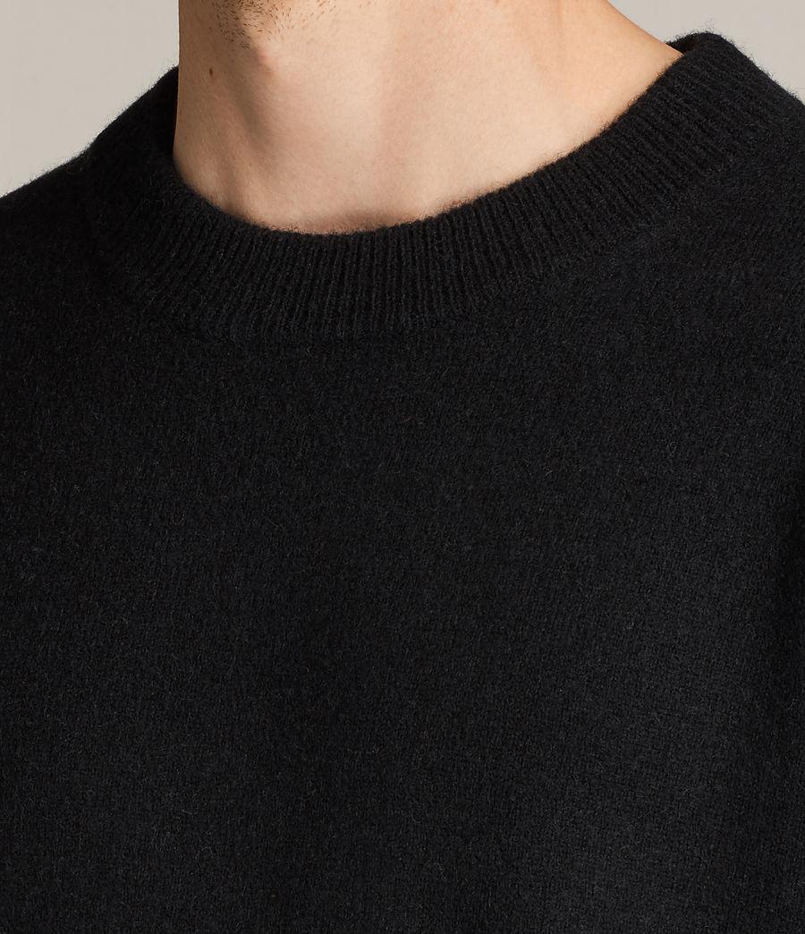 Hommes Pull Loften (black) - Image 2
