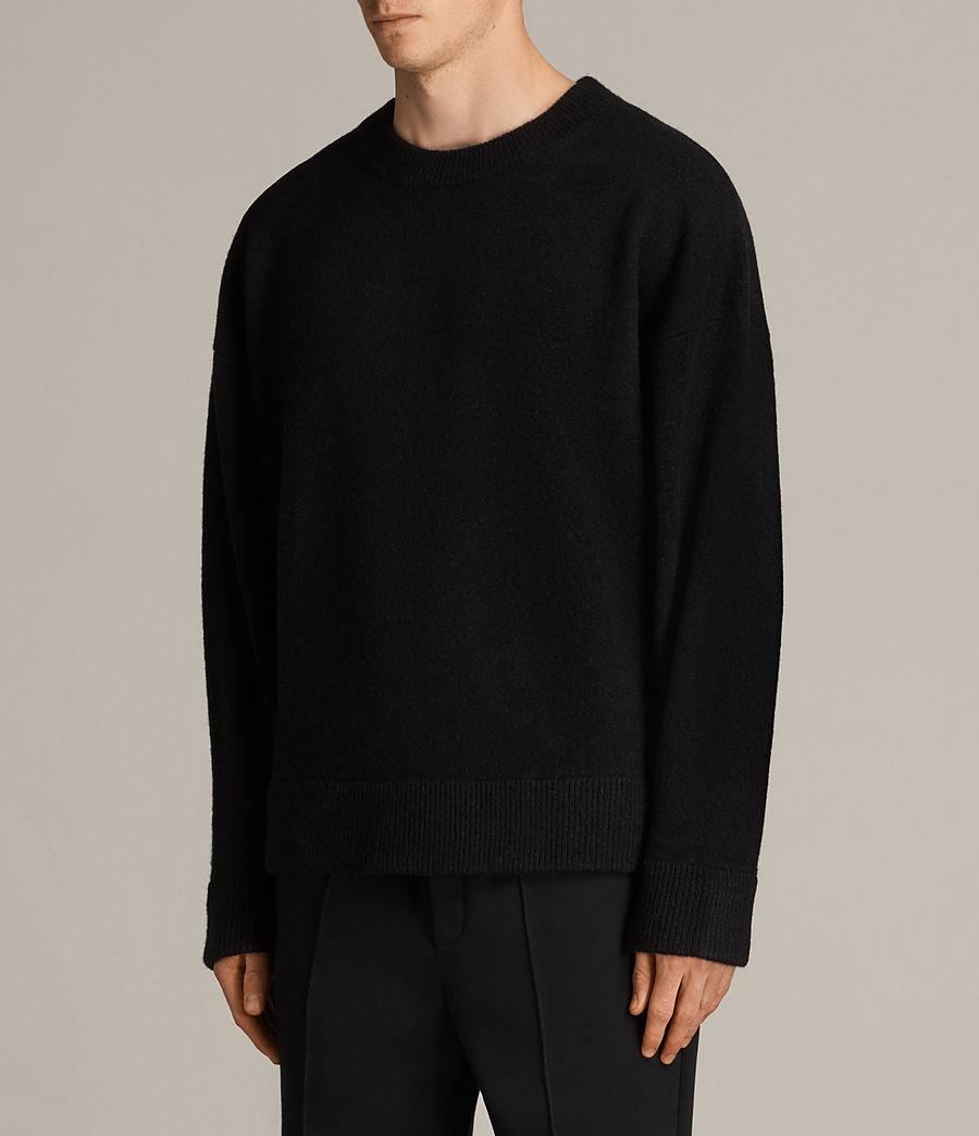 Hommes Pull Loften (black) - Image 3