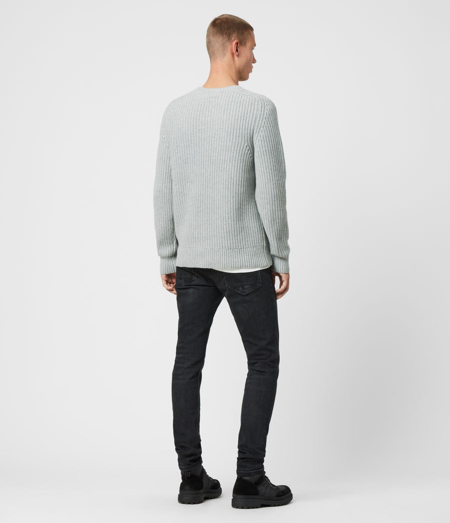 Men's Galley Crew Jumper (pebble_grey_marl) - Image 5