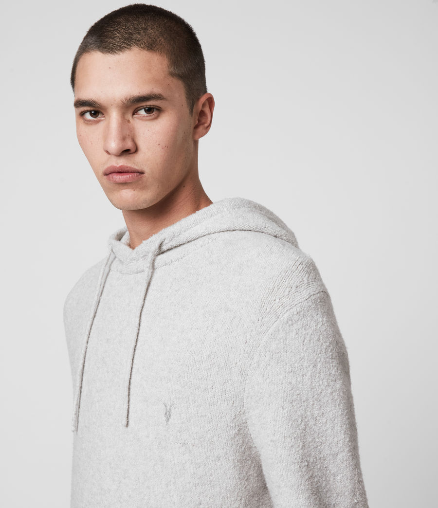 Mens Tolnar Hoodie (light_grey_marl) - Image 2