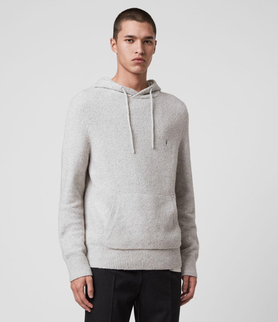 Mens Tolnar Hoodie (light_grey_marl) - Image 3