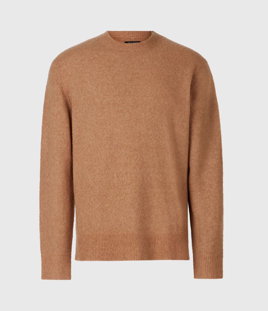 Mens Aurel Crew Sweater (acorn_brown) - Image 2