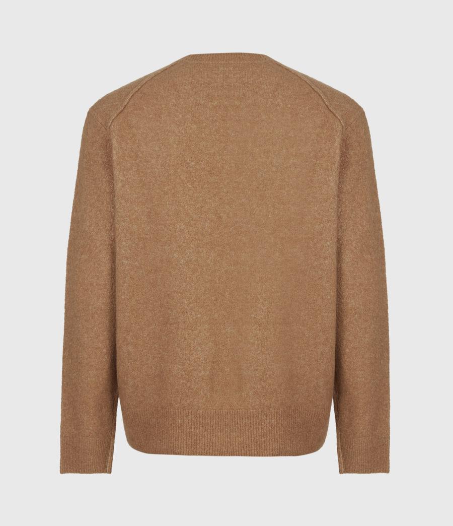 Mens Aurel Crew Sweater (acorn_brown) - Image 3